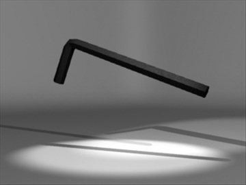 allen wrench 3d model 3ds 81208