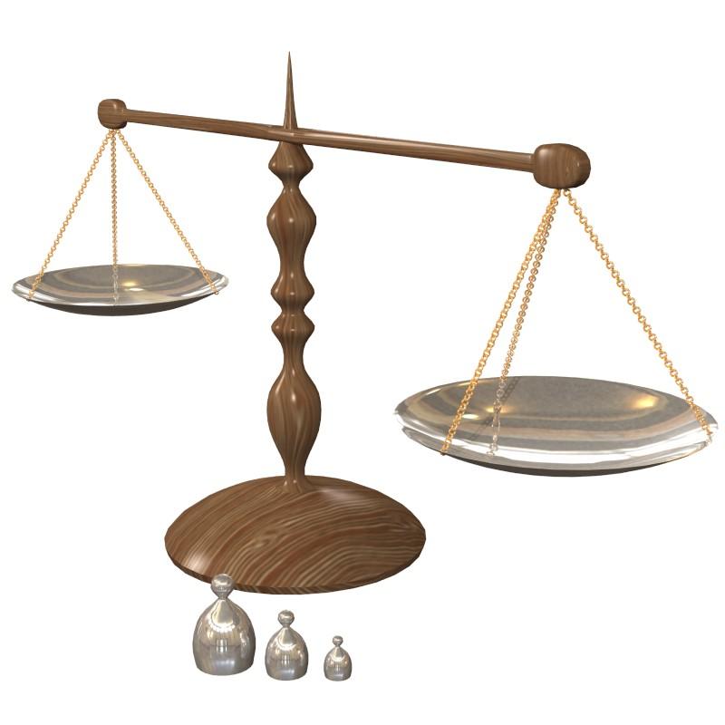 bilances skalas 3d obj obj 153212