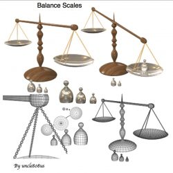 Balance Scales ( 94.43KB jpg by uncle808us )