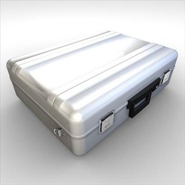 briefcase 3d model 3ds dxf fbx c4d obj 85247