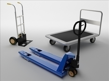 carts 3d model 3ds max obj 102947