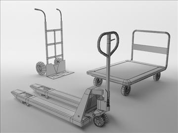 carts 3d model 3ds max obj 102952