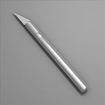 cutter 3d model 3ds max fbx obj 103379