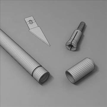 cutter 3d model 3ds max fbx obj 103383