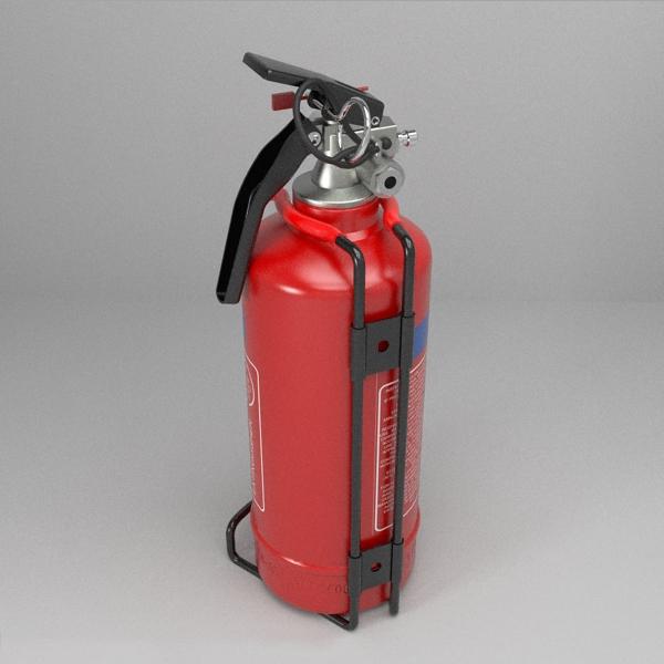 fire extinguisher (vehicle or household) 3d model 3ds fbx skp obj 113616