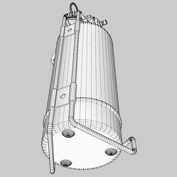 fire extinguisher (vehicle or household) 3d model 3ds fbx skp obj 113621