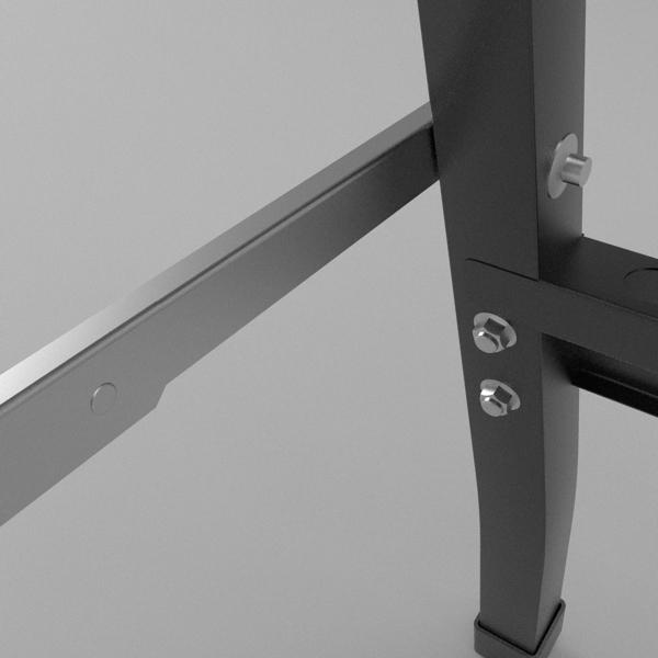 folding workbench 3d model 3ds fbx skp obj 122332