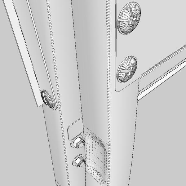 folding workbench 3d model 3ds fbx skp obj 122337