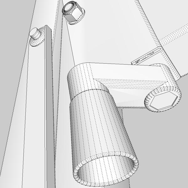 folding workbench 3d model 3ds fbx skp obj 122338