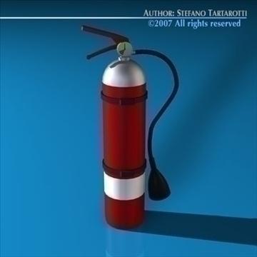 generic extinguisher 3d model 3ds dxf c4d obj 85548