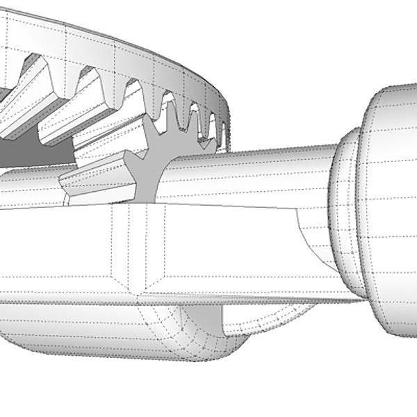 hand drill 3d model 3ds fbx skp obj 115355