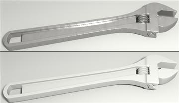 hand tools set 3d model 3ds blend obj other 103537