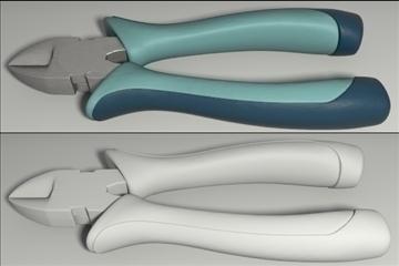 hand tools set 3d model 3ds blend obj other 103538