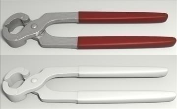hand tools set 3d model 3ds blend obj other 103540