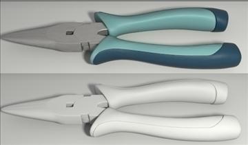 hand tools set 3d model 3ds blend obj other 103541