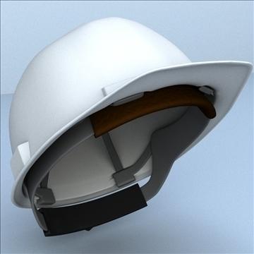 kemény kalap biztonsági sisak 3d modell 3ds max lwo hrc xsi obj 110347