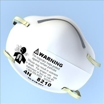 légzésvédő maszk 3d modell 3ds max lwo hrc xsi obj 99680