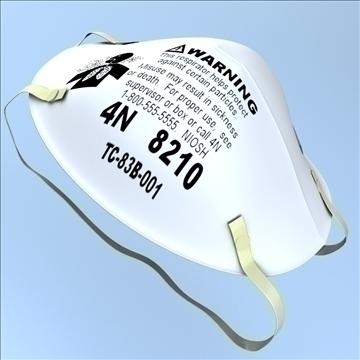 légzésvédő maszk 3d modell 3ds max lwo hrc xsi obj 99681