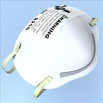 légzésvédő maszk 3d modell 3ds max lwo hrc xsi obj 99682