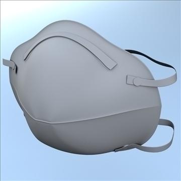 légzésvédő maszk 3d modell 3ds max lwo hrc xsi obj 99684