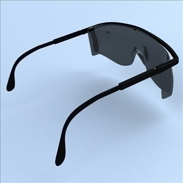 safety glasses 3d model 3ds max lwo hrc xsi obj 98507