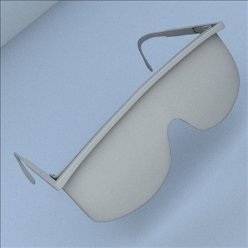 safety glasses 3d model 3ds max lwo hrc xsi obj 98512