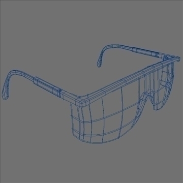 safety glasses 3d model 3ds max lwo hrc xsi obj 98513