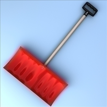 snow shovel 3d model 3ds max fbx lwo hrc xsi obj 98775