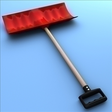 snow shovel 3d model 3ds max fbx lwo hrc xsi obj 98777