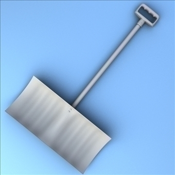 snow shovel 3d model 3ds max fbx lwo hrc xsi obj 98782