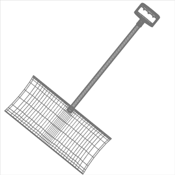 snow shovel 3d model 3ds max fbx lwo hrc xsi obj 98783