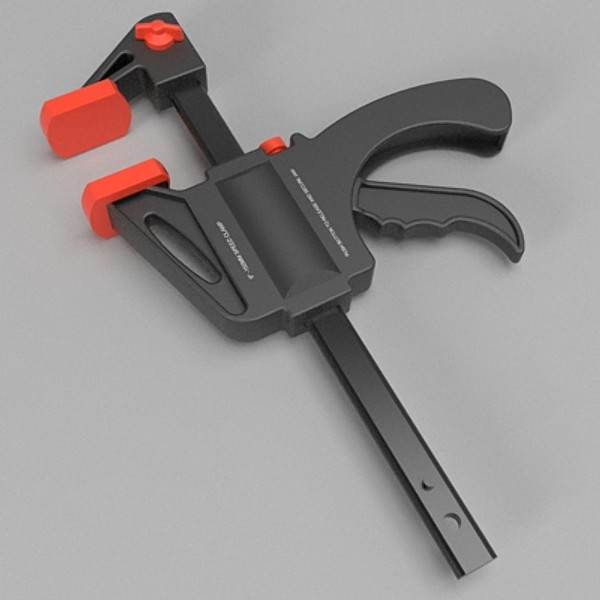speed clamp 3d model fbx b3d skp obj 115476