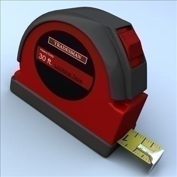 tape ölçücü 3d modeli 3ds max fbx lwo hrc xsi obj 100391