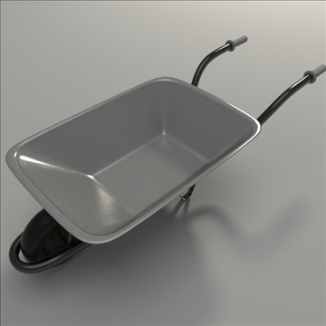 wheelbarrow 3d model 3ds dxf blend obj 104436