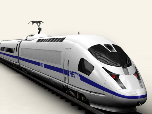 generic high speed train 3d model 3ds max c4d lwo ma mb obj 115929