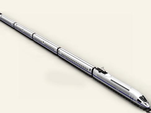 generic high speed train 3d model 3ds max c4d lwo ma mb obj 115930