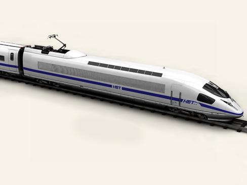 generic high speed train 3d model 3ds max c4d lwo ma mb obj 115935
