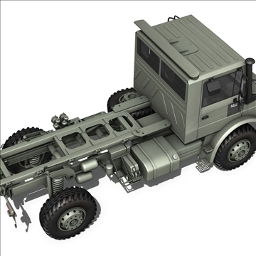 mercedes benz unimog belgian ambulance 3d model 3ds c4d lwo obj 105415
