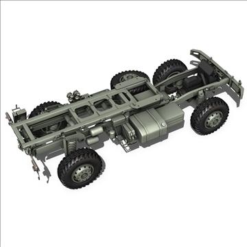 mercedes benz unimog belgian ambulance 3d model 3ds c4d lwo obj 105416
