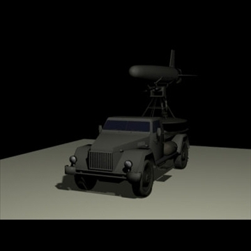 military truck t 3d model 3ds 97388