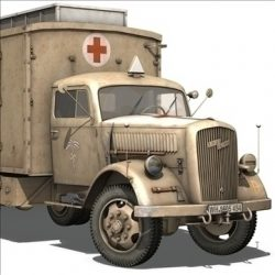 Opel Blitz Ambulance ( 87.62KB jpg by Panaristi )
