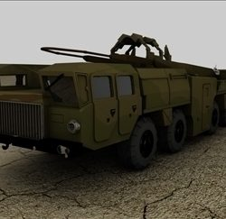 Scud B Missile Truck ( 60.75KB jpg by matttrout )