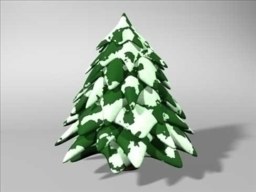 christmas tree 2 3d model 3ds dxf fbx c4d x obj 84607