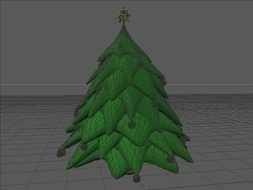christmas tree 2 3d model 3ds dxf fbx c4d x obj 84608