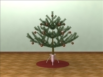 small spruce tree 3d model other  92387