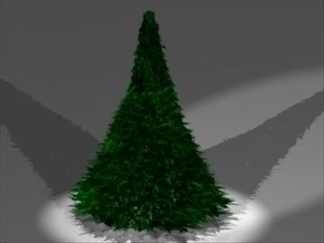 xmas tree 3d model 3ds dxf lwo 81025
