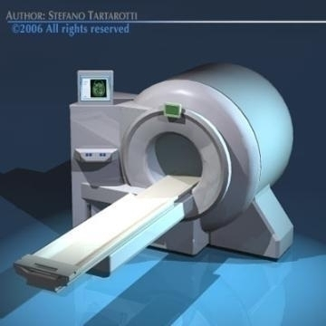 magnetic resonance scanner 3d model 3ds dxf obj 78023