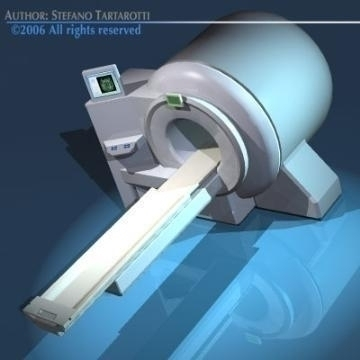 magnetic resonance scanner 3d model 3ds dxf obj 78026