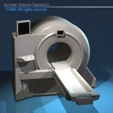 magnetic resonance scanner 3d model 3ds dxf obj 78029