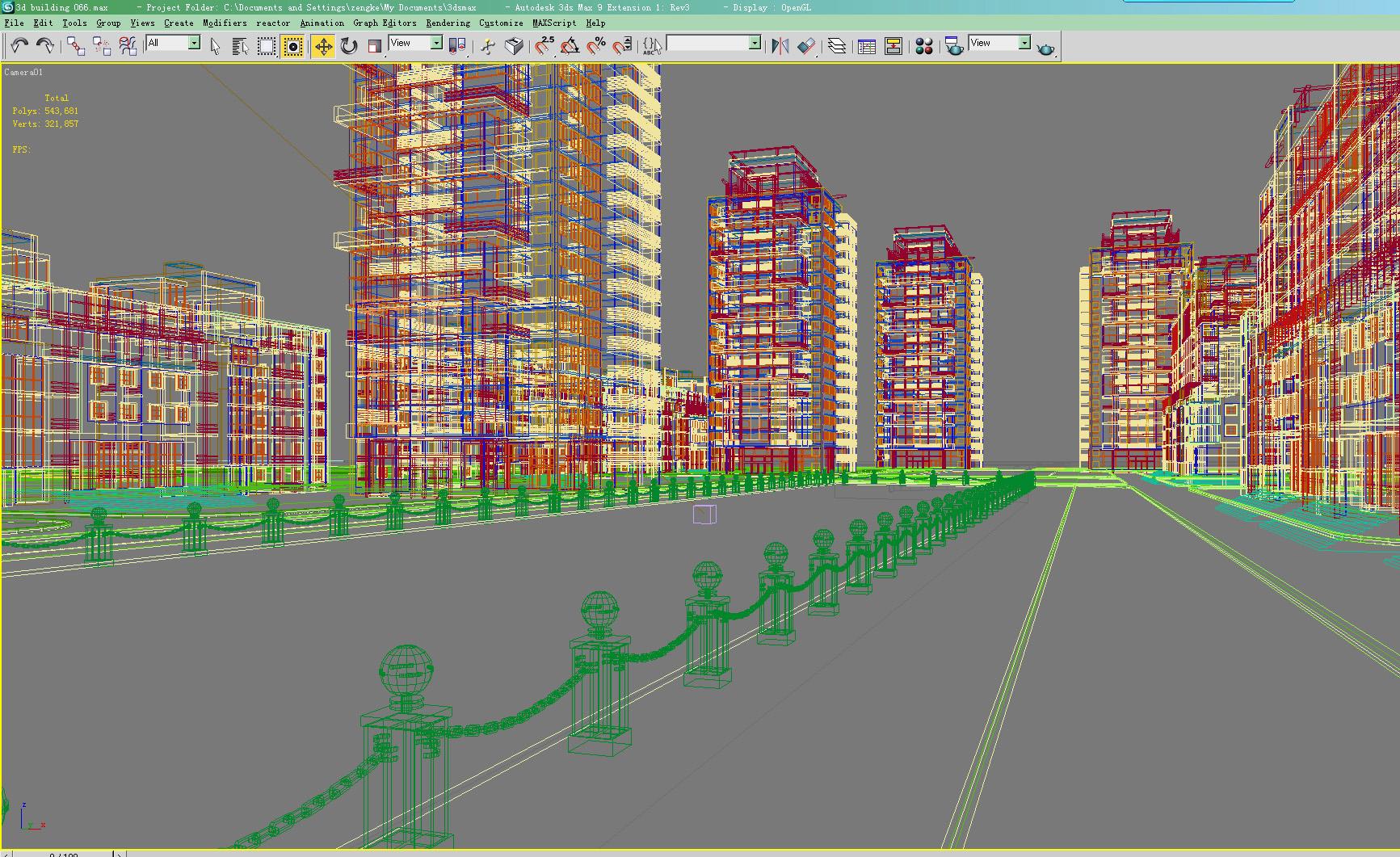 building 066 3d model max 133576